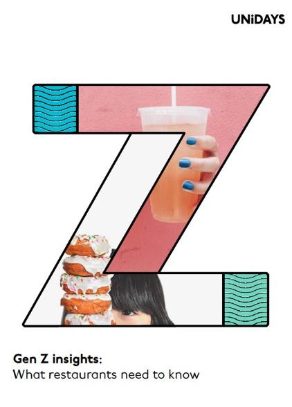 Gen Z restaurant report